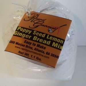 lemon poppy seed bread mix