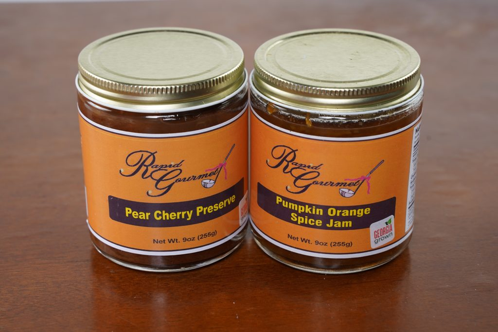 two rapid gourmet preserves and jams