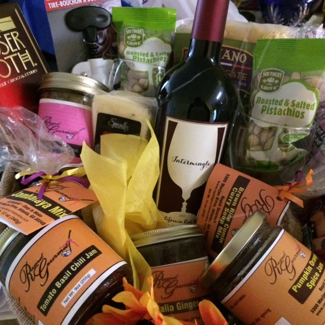 Gift basket by Rapid Gourmet