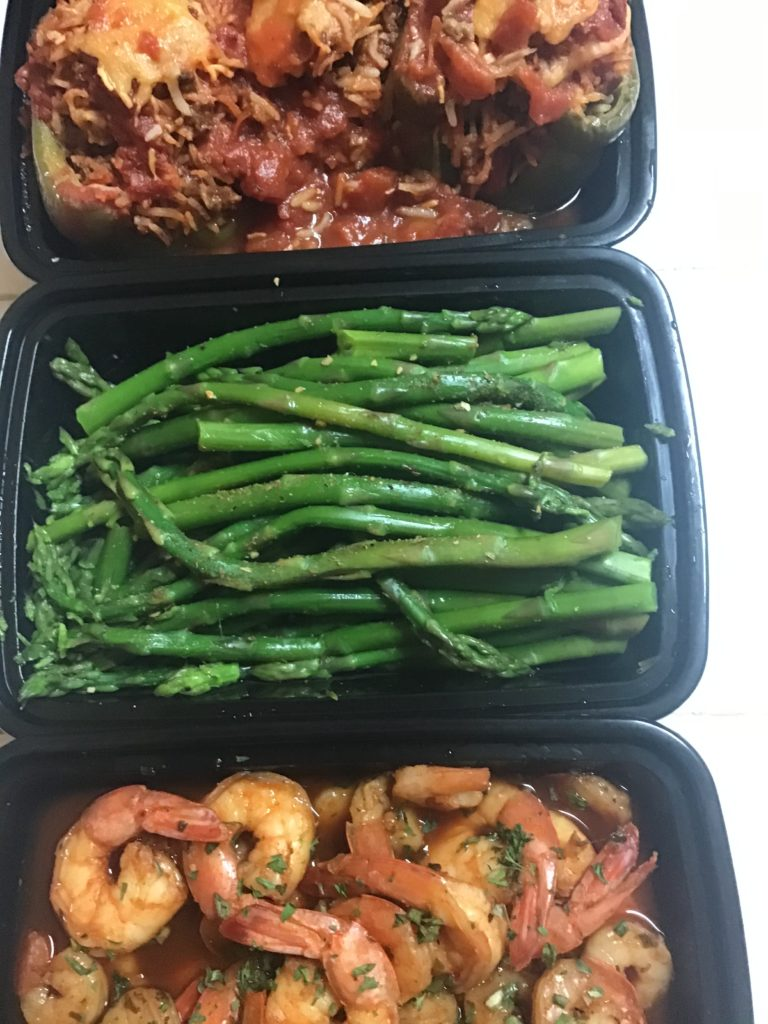 family size meal prep
