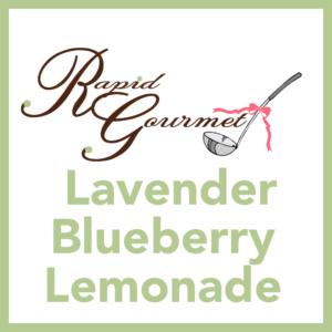 lavendar blueberry lemonade